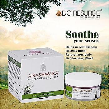 Vetiver cream with it's unique ingredients is calming, stabilizing, mood elevating and sleep promoting. Best solution to restlessness.   Available At : Bio Resurge(www.bioresurge.in) | Amazon, Snapdeal, Flipkart, 1mg, Nykaa, Guardian pharmacy, Paytm, eBay, Qtrove, Healthmug, LimeRoad, Shopclues.  #bioresurge #chemicalfreeskincare #pure #naturalsmile #ClearSkin #ayurveda #organic #fitness #life #fashion #skincare #lifestyle #love #smile #beauty #healthy #NaturalSkinCare #healthy #Mumbai #Delhi #Chennai #Kolkata #uttarpradesh #PureSkin #FlawlessSkin #goodness  #photooftheday #happy