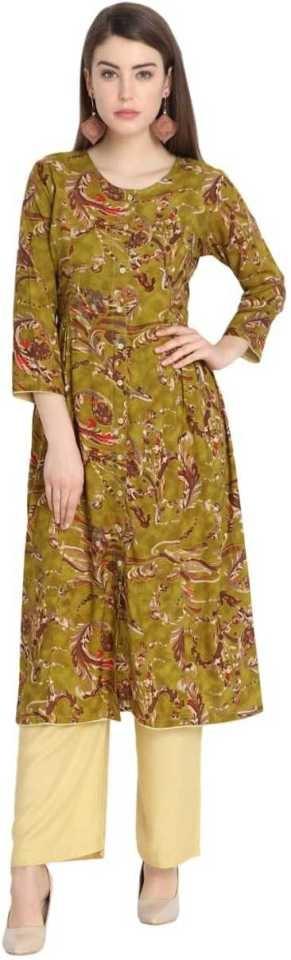 Women Kurta and Palazzo Set   Fabric  Cotton Type  Kurta and Palazzo Set Sales Package  1 Kurta and Palazzo Set  https://bit.ly/2JuMC6l