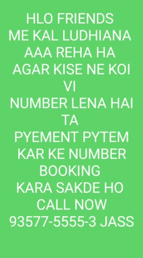 *VIP NUMBER SALE*  *HELLO FRIEND ME KAL LUDHIANA AAA REHA HA AGAR KISE NE KOI NUMBER LENA HAI TA NUMBER BOOKING KARA SAKDA HAI PYEMENT PYTEM KAR KE*  *AIRTEL IDEA VIP NUMBER SALE SIM ONLY 400 RS NET CALL FREE 28 DAY CALL NOW 93577-5555-3 90415-35387 JASPREET TELECOM MOGA MSG ONLY WHTSAAP INBOX 90415-35387 JASS*     *A I R T E L*  *98-1-51-96-0-95*  *98789-44-8-44* *97793-55-9-55* *73470-66-2-66* *98761-77-4-77* *70873-88-3-88*  *98-786-82-80-4*  *98-786-0-32-82* *98-786-0-54-31* *98-786-0-92-40*  *98-786-57-9-73* *98-786-39-8-37* *98-786-31-5-83* *98-786-56-1-25*       *I D E A*  *98-555-21-7-21* *98-555-26-4-26* *98-555-28-6-28* *98-555-29-2-29* *98-555-36-7-36* *98-555-38-3-38* *98-555-40-6-40* *98-555-46-3-46* *98-555-48-3-48* *98-555-62-7-62* *98-555-63-3-63* *98-555-63-8-63* *98-555-64-7-64* *98-555-74-7-74* *98-555-74-9-74* *98-555-80-6-80*  *PORT REDDY*  *ONLY COD*  *1500 RS*  *8285-3-000-16*  *PORT REDDY* *ONLY COD*  *500 RS*  *98568-0-1100* *98568-0-2200* *98567-0-4400* *98568-0-5500* *98568-0-6600* *98568-0-7700* *98567-0-8800* *98568-0-9900*  *VIP NUMBER SALE*  *PORT REDDY ONLY COD 1000 RS NO HOLD*  *80-8-31-78-000*  *96146-41-786* *96146-42-786* *96146-43-786*  *96146-45-786*  *96146-47-786* *96146-48-786*  *96146-49-786*  *PORT REDDY 1500 RS COD PYEMENT KARO COD LO*   *80-1-38-38-786*   *98722-0-5911*    *90413-6-000-9* *90568-2-000-9*  *PORT REDDY 1000 RS PYEMENT PYTEM KARO.COD LO*  *98-786-37-9-37* *98-786-57-2-57* *98-786-78-7-78*  *VIP NUMBER SALE*   *PORT REDDY*    *FIX PRIZE SIM*  *2500 RS*  *7658-0000-92*  *PYEMENT PYTEM KARO.COD LO*   *PORT REDDY 1000 RS PYEMENT PYTEM KARO.COD LO*   *76579-10-10-0*  *76962-0-3600* *86994-0-3600*  *7658-00-4800*  *7658-00-1800* *7658-00-8100*  *90410-13-13-5*  *90415-13-13-5*   *90566-0-9200*  *90411-0-9595*  *76579-0-1300*  *76967-0-1300*  *89684-0-1984*  *86-999-88-00-6*  *PORT REDDY 500 RS PYEMENT PYTEM KARO.COD LO*  *98-786-65-3-48*   *98-555-37-4-32*   *95013-33-6-13*   *9-8-7-6-5-57-505*   *70-8-77-41-404*  *BOOKING NUMBER SALE BOOKING 3 MONTH FIX PRIZE*  *1500 RS*  *96592-000-36*  *98565-00-444* *98561-00-666* *98565-00-666* *98568-00-666*  *96141-0-5911* *96142-0-5911*  *BOOKING NUMBER SALE 2500 RS BOOKING 90 DAY*  *75024-000-16*  *856-0000-66-2*  *BOOKING NUMBER SALE BOOKING 3 MONTH FIX PRIZE 1000 RS*  *98721-66-3-66*  *76819-0-8400*  *PORT REDDY 500 RS  PYEMENT PYTEM KARO.COD LO*   *99143-26-00-3*  *97816-97-00-4*  📱📱📱📱📱📱📱  *PORT REDDY COD ONLY 200 RS PYEMENT PYTEM KARO.COD LO*     *98885-73374*  *91157-31-200*  *90569-82-300*     *76964-90-300*  *90564-67-400*  *90568-58-400*           *82647-00-299*    *91158-10-1-55*  *CALL NOW* *90415-35387*  *MSG ONLY*  *WHATSAAP INBOX* *90415-35387* *JASSSSSS*