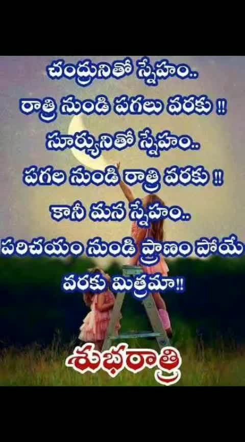 hi good night friends sweet dreams have a nice sleep #roposodailywisheschannel #ropososolefulquotes #roposotelugu #roposogoodnight