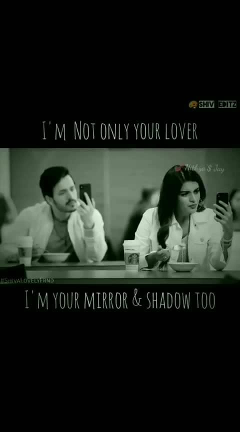 #akkineniakhil #mr-majnu i am not only your lover... I am your mirror too...