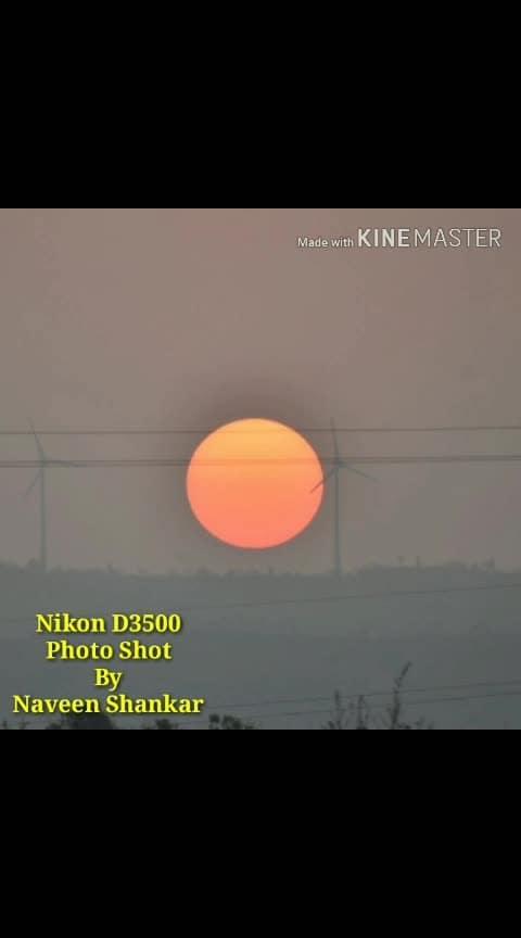 My New Nikon D3500 Camera Shot...