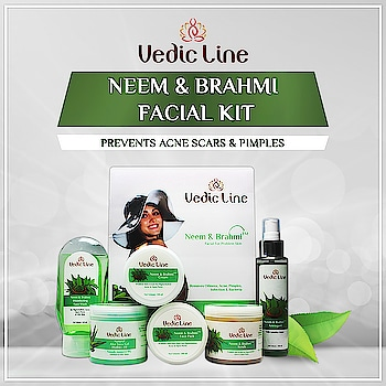 Ingrained with the goodness of Neem and Brahmi to reduce pigmentation, acne, and scars. Cleanses skin deeply to give you fresh and beautiful skin. Add to your 🛒 and get FLAT 10% Instant Discount now:👇👇 http://bit.ly/neembrahmifacialkit . . . . . . . #Facial #FacialKit #NaturalFacialKit #NeemBrahmiFacial #FacialForAcne #FacialForPimples #NaturalFacial #FacialForDrySkin #FacialForOilySkin #AllSkinTypes #Vedicline #SkinMaster #BestFacial