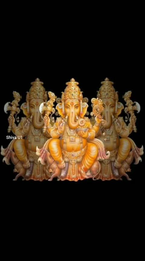 om maha ganapathy namo namah 🙏#vinayagar#vinayakan#vinayagam#roposo-god#godblessyou🙏🙏🤗
