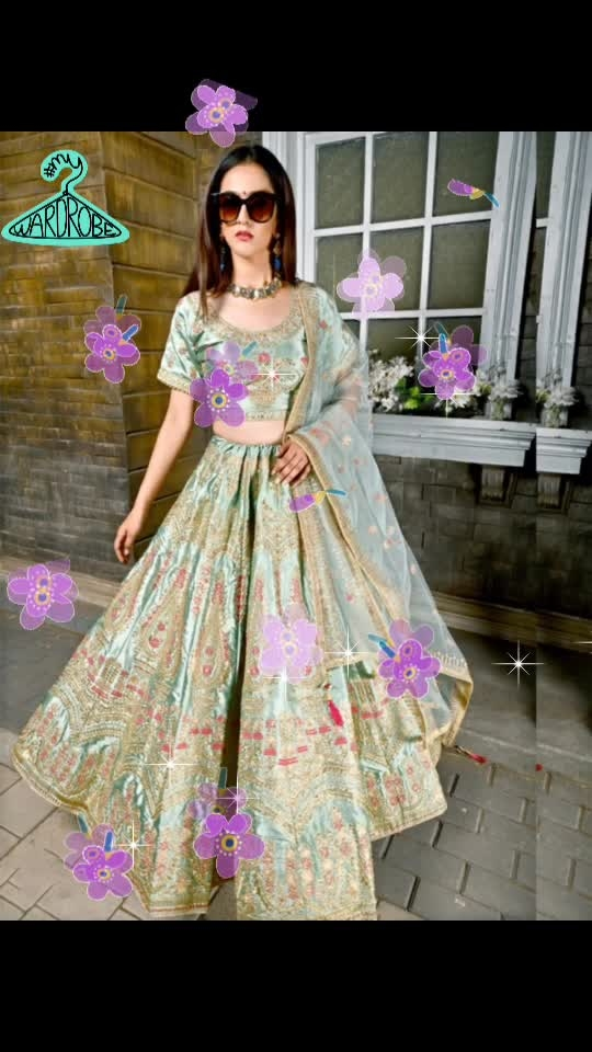 Beautiful lehengas On Zinnga  ShopNow: https://bit.ly/2HIOEfH #flowers #flowers #mywardrobe