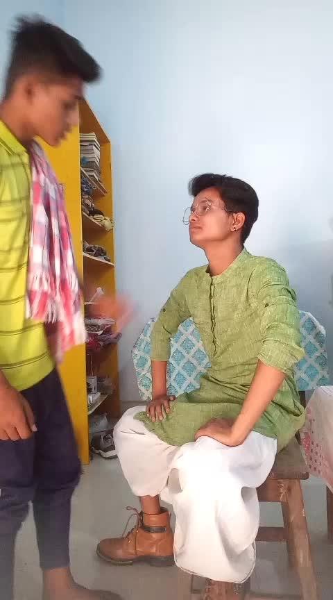 Baburao Comedy  #thecomedian  #roposo-comedy  #comedy #sarbadaman #sarbadamanvlog #stylishsonu #shubham #haha-tv   Cast-Sarbadaman, Stylishsonu