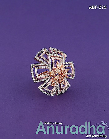 Try Our New Adorable Collection OF American Diamond Finger Ring. Get more desuigns on this link:  https://bit.ly/2DNvnIW . . . . . . . . . . #finger #fingerringdesigns #fingerringcollection #newfingerring #onlinefingrring #traditionaljewellery  #jewellery  #fashionjewellery  #fashion  #jewellery  #artificialjewellery  #studentoftheyear2  #AnuradhaArtJewellery