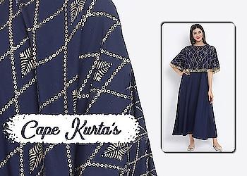 Cape Kurta's!  https://bit.ly/2WmnMLK  #9rasa #colors #studiorasa #ethnicwear #ethniclook #fusionfashion #online #fashion #like #comment #share #followus #like4like #likeforcomment #like4comment #ss19collection #ss19 #capekurta #cape #kurta