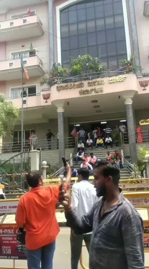 ಬಿಜೆಪಿ ಪ್ರಧಾನ ಕಛೇರಿಯಲ್ಲಿ ಸಂಭ್ರಮ #bjp4india #bangalore #lokhsbhaelection2019 #results #modisarkar