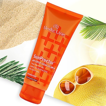 This summer protect your skin from the harmful ultraviolet (UVA & UVB) rays. The best option to save your skin from melanin is to use Sunproctor #SPF30 from the house of #Vedicline which is made from the natural ingredients to give your skin healthy nourishment. > Add To Your 🛒 Now:👇 http://www.vedicline.com/product/1688/sunproctor-spf-30  #ParabenFree #SunScreenLotion #SunProctor #sunscreen