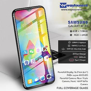 #Samsung M30 Specification  www.waytoonerd.com/  #technology #tech #electronics #software #gadgets #follow #technews #iphone #apple #xiaomi #oppo #vivo #smartphone #android #photography #like #sony #instagram #asus #galaxy #mobile #samsunga