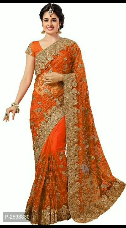 👜https://myshopprime.com/product/orange-net-embroidered-saree-with-blouse-piece/329764450  Rs.2083  Orange Net Embroidered Saree with Blouse Piece  Size :  Free Size (Saree Length - 5.5 metres) Free Size (Blouse Length - 0.8 metres)  Color : Orange  Fabric : Net  Type : Saree with Blouse piece  Style : Embroidered  Design Type : Other  Delivery : Within 6-8 business days  Orange Net Saree Soft Net Thread Work Embroidered Saree ; The Size of saree is 5.5 mtrs and the size of blouse piece is 0.80 mtrs; Beautiful and attractive Trending Designer saree ⚡⚡ Hurry, 5 units available only  #dress #instadresses #fashiongram #dreamdress #fashiondress #outfit #dressesonline #whattowear #ootd #dressadict #prilaga #clothes #igstyle #fashionblog #style #fashionaddict #womensfashion #amazingdress #dresslover #couture #moda #dressup #igfashion #fashionstyle #gown #fashion #styleoftheday #fashionista #instadress #dresses