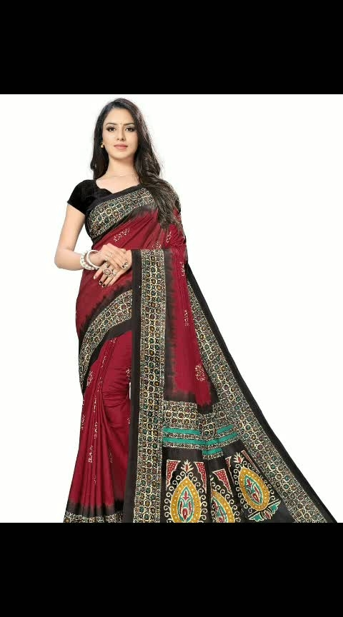 👜https://myshopprime.com/product/red-printed-art-silk-saree-with-blouse-piece/329846113  Rs. 858  Red Printed Art Silk Saree with Blouse piece  Color : Red  Fabric : Art Silk  Type : Saree with Blouse piece  Style : Printed  Design Type : Mysore Silk  Saree Length : 5.5 (in metres)  Blouse Length : 0.8 (in metres)  Within 6-8 business days  Free and Easy return-No question asked  Malgudi Silk Saree • Vimla brings you this super stylish and elegant designer saree at a very Affordable price. • This saree comes with an unstitched blouse piece that can be stitched according to your preferences. • Made by mixing the positives of cotton, silk and wool fabrics, art silk sarees are airy, super light and really comfortable which makes them an ideal choice during the hot months of summer. • Prints and designs on these sarees closely resemble a pure silk saree. • Dress to impress, or to look your best – the sare can be worn at multiple occasions such as house warming parties, birthday times, pre or post wedding events or even formal occasions. You can pair these sarees with sandals, high heels or flats.  #dress #instadresses #fashiongram #dreamdress #fashiondress #outfit #dressesonline #whattowear #ootd #dressadict #prilaga #clothes #igstyle #fashionblog #style #fashionaddict #womensfashion #amazingdress #dresslover #couture #moda #dressup #igfashion #fashionstyle #gown #fashion #styleoftheday #fashionista #instadress #dresses