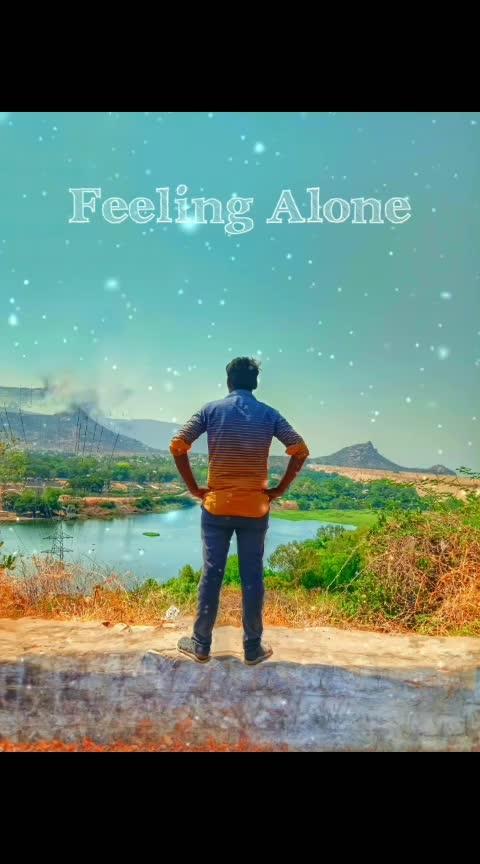 #onesidedlove #alone #feelingblessed #joker #roposo-trending #beloved