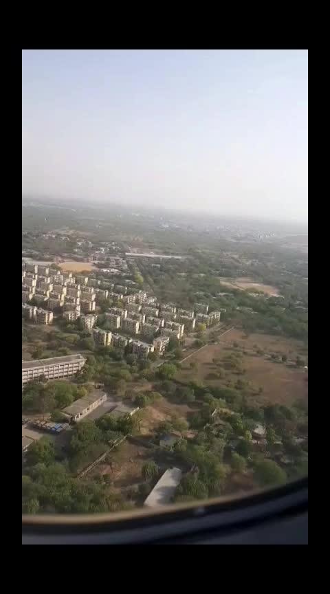 Delhi from the skies! #roposocaptured #captured #delhi #flightvideo #roposovideo #roposo_captured #capturedchannel