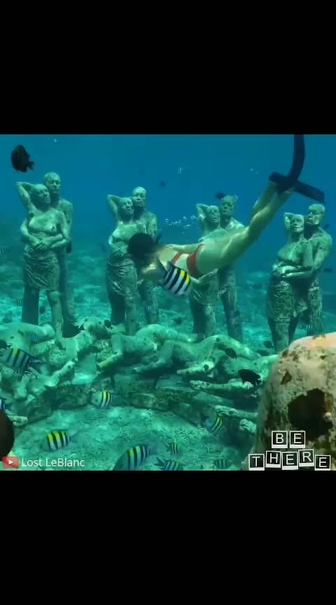 # Under water Sculptures in Indonesia #