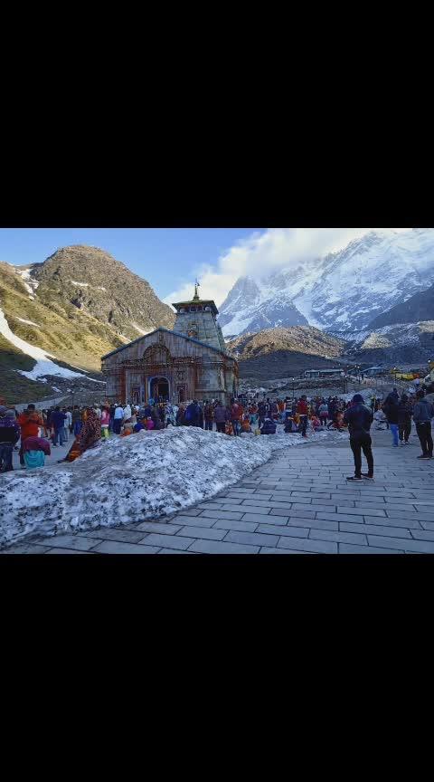 beautiful view of kedarinath #photooftoday #ideas