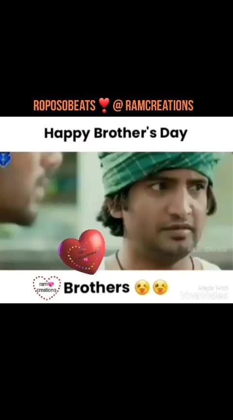 #happybrothersday . . . . . ..  . ❣️  . . . . ... . . .  🖤 . .. ..  .. . . . . ..💗❤️💗    #bestscenes #dialogue #tollywood #bgm #love #movie #tollywoodmovie #tollywoodactress #tollywoodactor #tollywood #roposoness  #tollywoodscence #rops-style #roposoness #roposobeats #roposo-film #roposofilmistaan #beats #filmistaan #best-song #best #roposo    #bestvideooftheday #bestvideos #new-whatsapp-tatus #love-status-roposo-beats #whatsappstatus #dailyroposopost #roposofashionblogger #roposoblogger #roposo-haha #roposofashiondiaries #roposostarschannel #roposobeatschannel #roposofilmistanchannel   #chalo #chalomovie #choosichudangane #rashmika    #hotness #hottest #actress #bollywoodbeauty #roposobeauty #tollywoodhotactress #hotactress #tammanabhatia #kajalaggarwal #kajal #sunnyleonehotpics #sunny #samanthalove #sam #samanthaakkineni #nagachaitanya-samantha #samantharuthprabhu #maheshbabu #mahesh #pspk25 #pspkbdaycelebrationsbegins #pspk #pawanism #pawankalyanfans #ntramarao #ntrfansarmy #ntrbiopic #ntr #ntrdance #nani #naturalstarnani #nanilovesong #krishnarjuna-yuddam-nani #nanimovie #nanibest #rukshardhillon #rukshar #saipallavi #saipallavi-premam #hgpk #ntrmorethanahero #vijay-devarakonda #keerthisuresh-vijay #vijaydeverakonda #wsspecial #lovevideostatus #lovevideos #sruthi #roposo-bollywood #bollywood #super-sexy #superstar-rajinikanth #superstarmahesh #ramcharantej #kgf-super #superscenes #super-hit-song #super-song #kgf-amma #kgf21dec #kgf-superscenes #kgf_yash #yashmaster #kgfmovie #kgfdialouges #kgfdialogue #kgfbestscenes #kgf2 #bollywoodhot #sunnyleonelove #hot-hot-hot-status #statusforgirls #statusforboys #felling-love-status #statuslove #full_screen-sad-statues #staytuned #whatsupstatus2019 #status2019 #statusoftheday #todayscene #bestscenes #forever_love #singlee... #btechlife #betch #degree #degreestudent #lovers_day #priyapvarrier #hyderabadinsta #hyderabaddiaries #fasakk #extra-jabaradasth