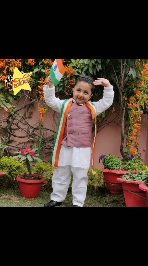 #indianflag  #kidsinroposo  #cute-baby  #traditionalvibes