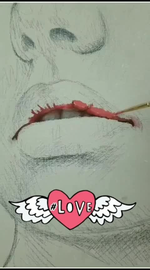 #live-a-meaningful-life 👨‍🎨🎨pink lips painting!!😍😍 #artisan  #gallery  #arthistory #masterpiece  #artforsale  #creative  #artsgram  #photooftheday  #artwork  #instaartist  #artshow  #graphicdesign  #arts_help  #graphic-tee  #artwork  #artoftheday  #artjournal  #artgallery  #artiste  #artlife  #artstudent #atschool  #artclass  #art_spotlight  #aartistic_dreamers #art_astrologer #nawden #artdrawing#arteurbana #artphoto