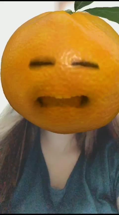 #orangeface @naazuklochan