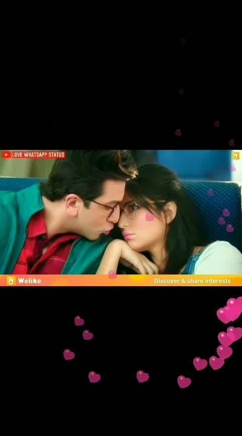 kiss le hi liya 😘😘😘😘#romantic-scene