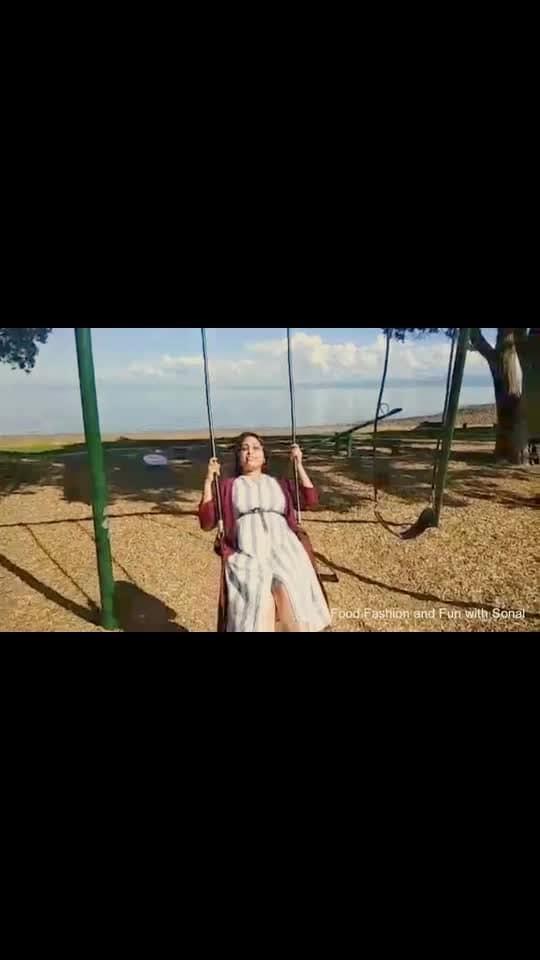 I'll always keep the kid alive in me; no matter what ❣️ And that kid got sooo excited when she got the chance to swing along the #ocean #peace  #positivevibes #endorphins 🏝 #beachbabe #beachbum #sky #sea #self #swing #newzealand  #swing #swinger #beachswing #swings #coromandel #coromandelpeninsula #keepthekidalive #beingkid #nzbeauty #nzbeach #beach  #beauty #beautyofnature  #kidagain #aucklandblogger #nzblogger #foodfashionandfunwithsonal
