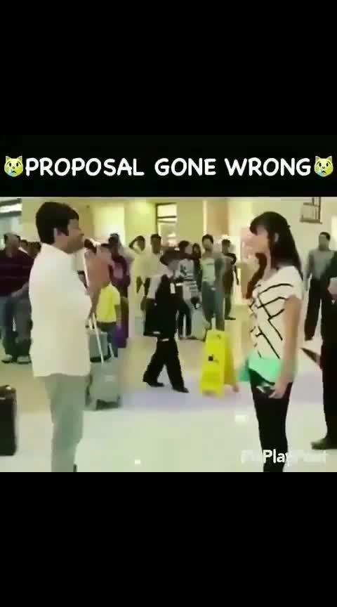proposal gone wrong #proposal