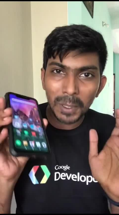Control your smartphone with Tamil #controlphone