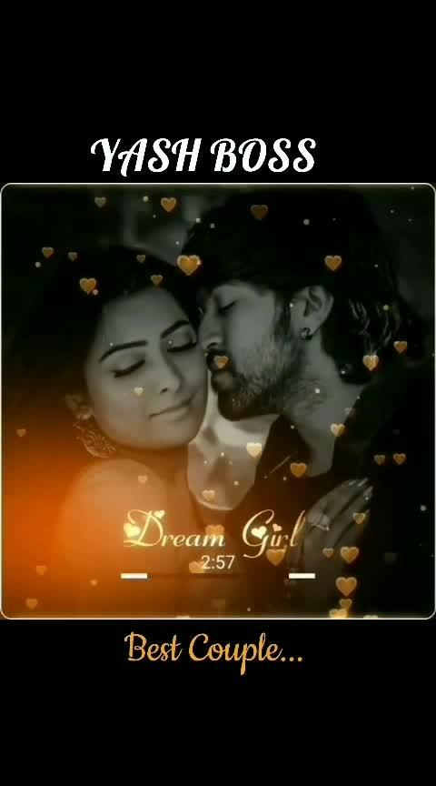 #yashboss #radhikapandit #beautiful_couple #ramachari_margreat. 💖😘💖