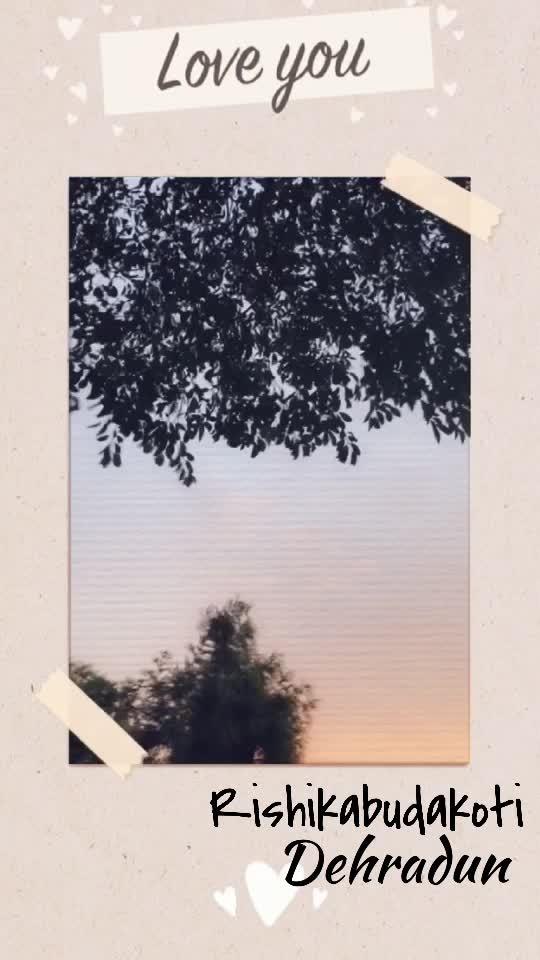 #nature #love #rishikabudakoti
