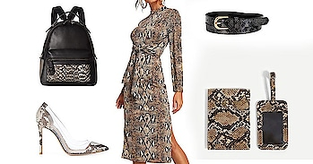 Animals print have been in trend and out of trend for a long long time now, in fact, it is one of those trends that get out of fashion and then comes back again, after every 4-5 years. And, while it's either a leopard or Cheetah print, this time snakeskin print trend is getting huge. Read more - https://rapidleaks.com/lifestyle/fashion/snakeskin-print-trend/ #Soroposo #dress #dressing #dressupdaily #dresslikenew #animalprint #animalprinted #accessorieslove #accessorieslove