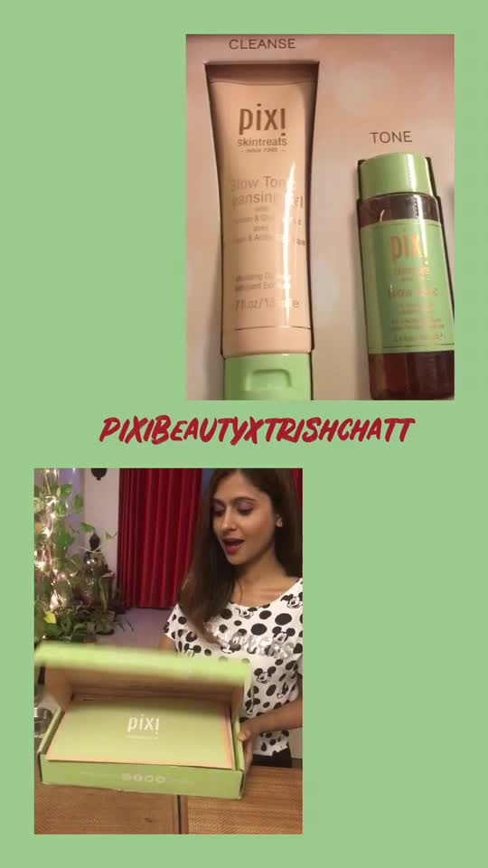 Received this beautiful package from pixi Beauty..... Loving it❤️ . . . . . . . . . . . . . #fashonictrishaa #be-fashionable #ropo-beauty #pixiebeauty #skincare #skincareblogger #blogger #fashionblogger #beautyblogger #kolkatafashionblogger #kolkatafashion #kolkatabeautyblogger