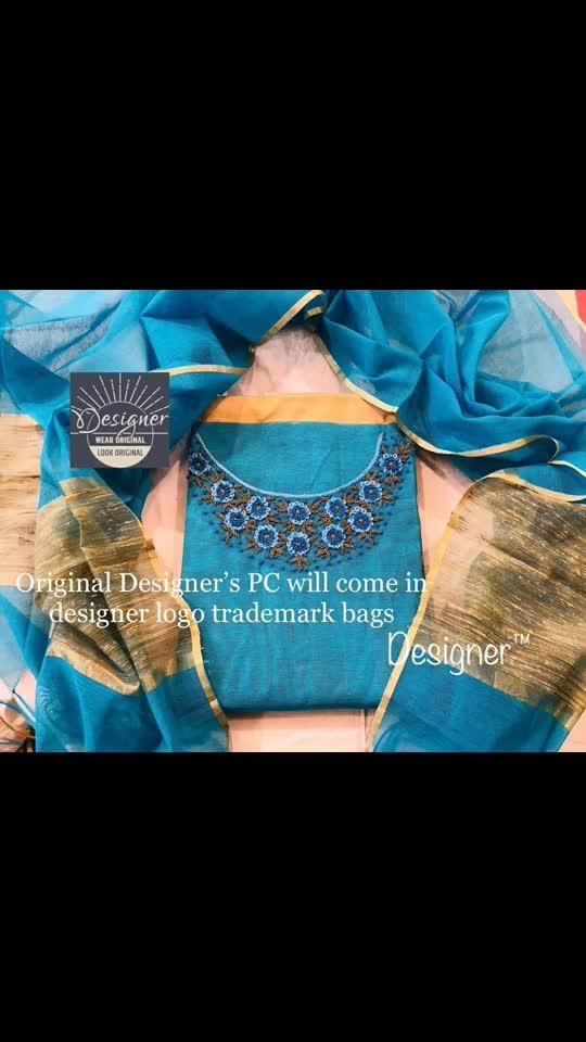 Rate:1450/-  *Handwork suits*   *Banaras noil* top with fine handwork work/ pearls/ embroidery Banaras noil dupatta