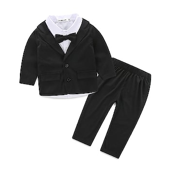 Baby Boy Black Tuxedo - Shop Formal Wedding Suits for Newborn Contact :+918000011699 Shop Now : https://www.pinkblueindia.com/baby-boy-black-tuxedo-suit.html  #kidsfashion #kidswear #instakids #boydresses #boysuits #formalclothes #birthdaydress #weddingoutfits #formalwear #luxurykids #partywear #boypartysuit #mumbai #delhi #jaipur #usa #instalikes #celebritykidswear #pinkblueindia