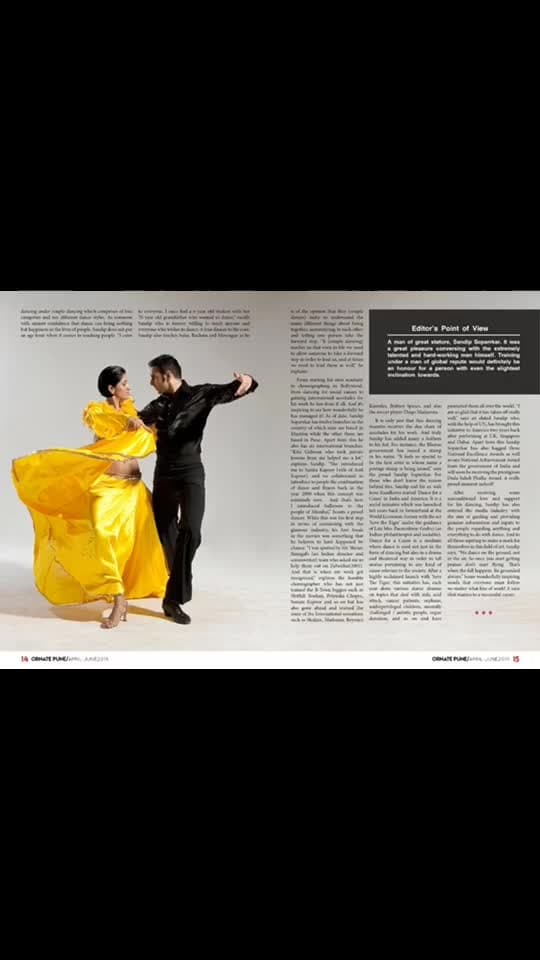 A big thank you to @ornate_magazine for this lovely article...   #article #ornatemagazine #story #dance #sandipsoparrkar #indiafineartscouncil #talk #coverage #magazine #hearttoheart #thankyou #dancetalk #dadasahebphalke #award #nationalaward #dancepics #dancepictures #interview #roposoinfluencer #roposointernational