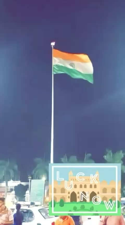 #indian #proudindian #flag #lucknowdiaries