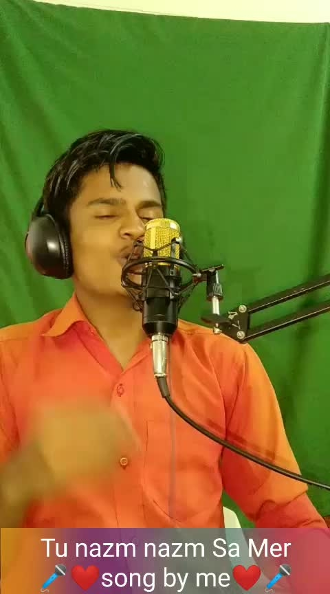 Tu nazm nazm Sa Mere Song   By Me  #bollywoodsong #lovesong #roposo-bollywood  #bollywoodlovesong