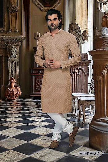 #Vivah Collection # Kurta With #OffwhiteBottom #chikankurta #Indianlook #chikankari #withcolours #Trendy #Biege #Chiku-white #indianwedings #lookgoodfeelgood #betraditional #whiteloverforever #forRich & #RoyalLook to Know more details whatsapp on 919820936178