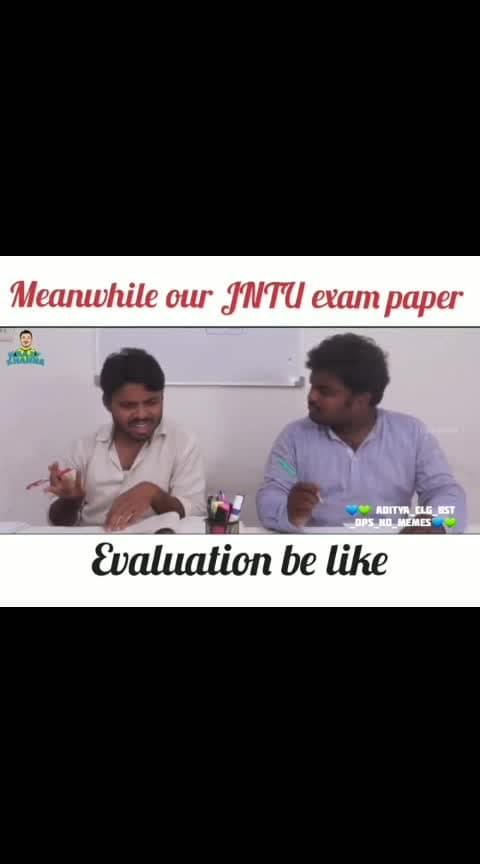 JNTU evaluation...😒