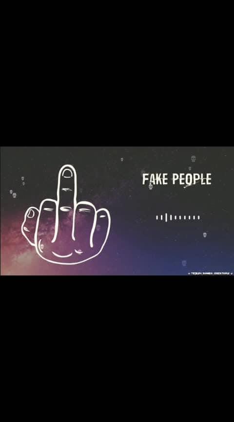 #fakeworld  #fakepeople