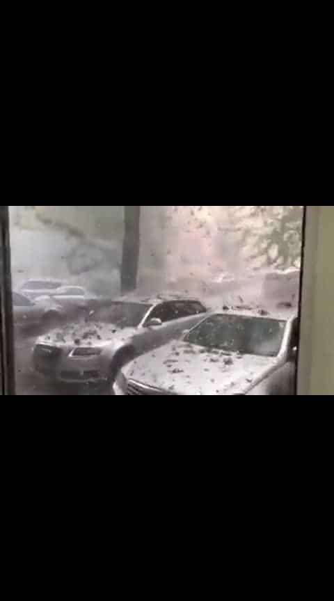 Stones Rained in Romania.