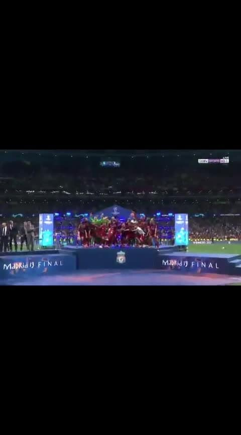 M.SALAH GOAL AND LIVERPOOL CHAMPIONS