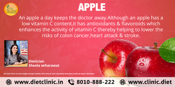 Know About health benefits of Apple by @dietician Sheela. ✅#Diet_Clinic brings #healthy and natural #diet #plans, recipes and more for you and your family; get it now! ☑️Please Call at 8010888222 🔰Book Your Appointment: https://www.onlinediets.in/