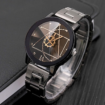 Skylofts Black Dial Stainless Steel Chrome Plated Men Watches & Boys Watch Analog Watch - for Men FREE Delivery  for BUY click on link   https://amzn.to/2KniIAu