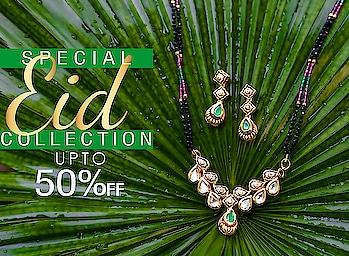 Get Upto 50% Of on Our Eid Special Collection. To see our eid special collection click on the link: https://bit.ly/2JCOnhP . . . . . . . . . . . #eidcollection #eidmubarak #eidspecial #traditionaljewellery  #fashionjewellery  #fashion  #jewellery  #artificialjewellery  #studentoftheyear2  #mangalsutra #AnuradhaArtJewellery
