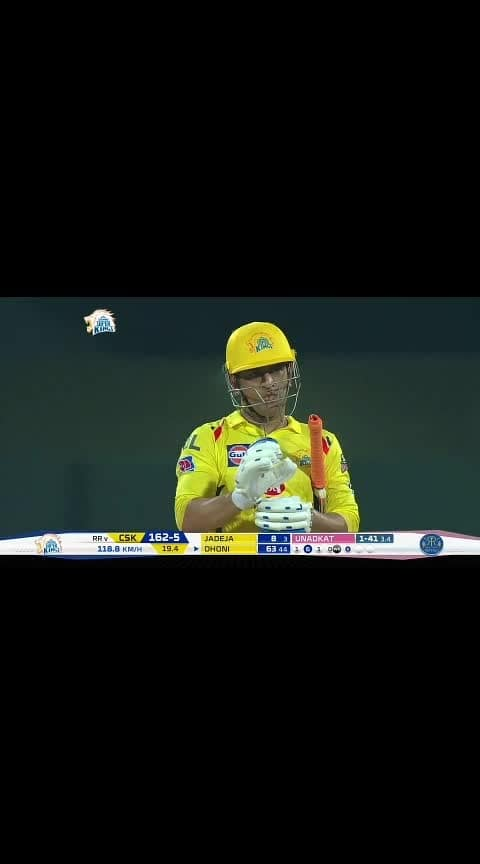 6, 6, 6: MSD's perfect finish #dhoni #dhoni-csk #ipl-2019