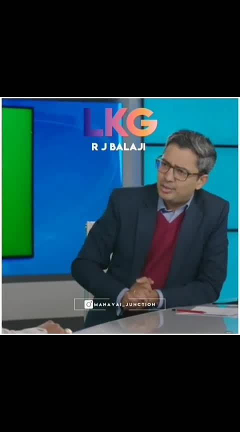 #lkgmovie #rjbalaji #thug