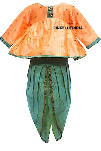 Kid Dhoti Style Dress with Top - Baby Girl Dhoti Kurta Set Contact :+918000011699 Shop Now : https://www.pinkblueindia.com/baby-girl-dhoti-kurta-set.html  #kidsethnicwear #kidsfashion #ethnickids #adorablekids #weddingoutfit #indianwear #indiankidswear #babystyle #babyfashion #boysweddingoutfit #indianweddingdress #peplumtop #dhoti #babygirl #uk #USA #australia #kidsweddingwear #pinkblueindia