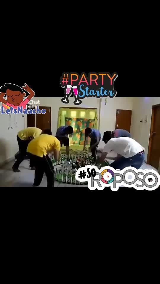 #soroposo #letsnaacho #partystarter